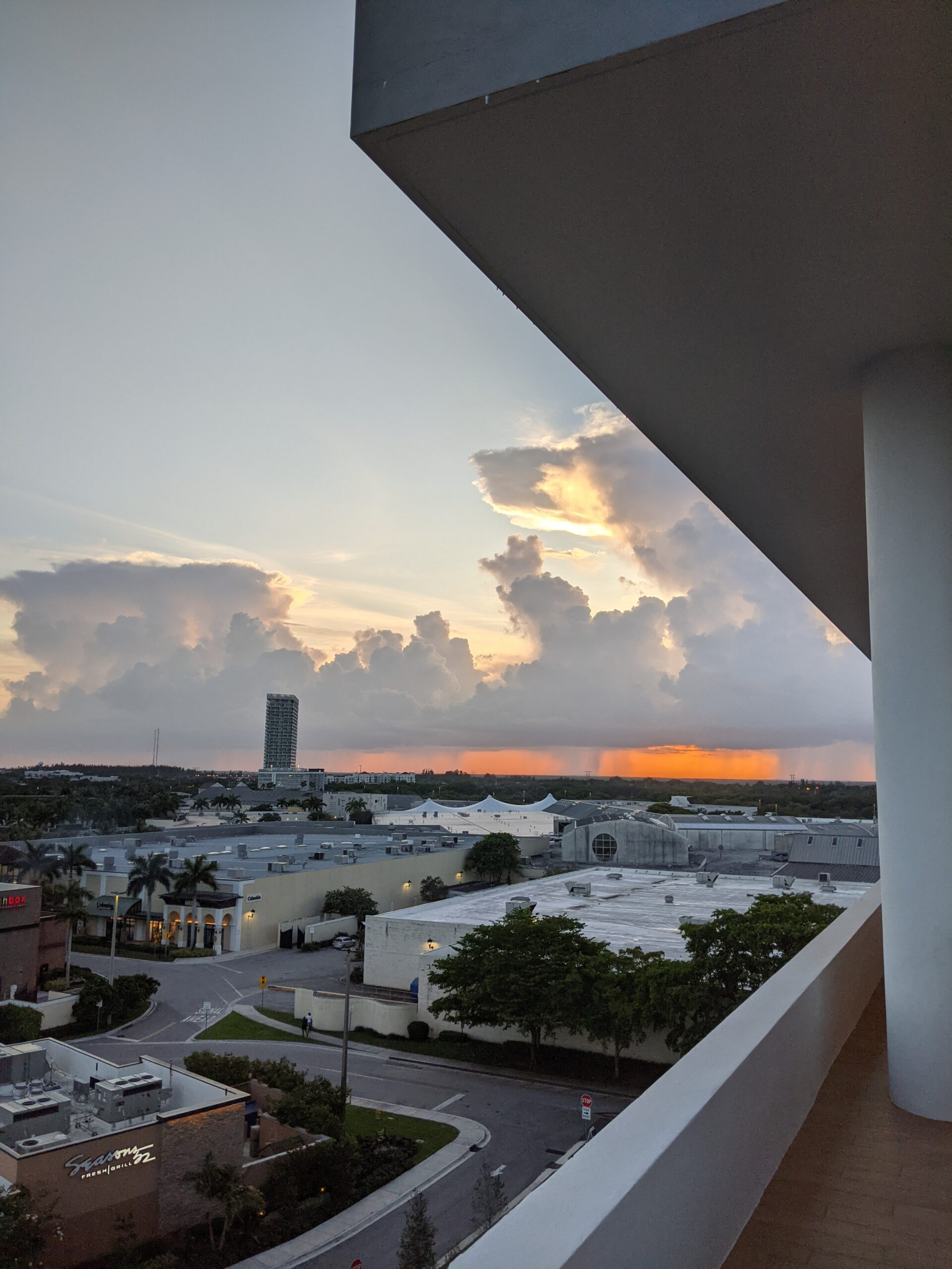 Sunset from the AC Hotel Marriot Sawgrass Mills in Ft. Lauderdale Florida